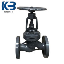 Russia standard cast steel flange ends PY16 globe valve price