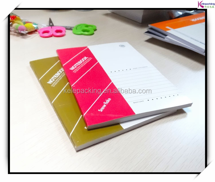 Custom college paper notebooks