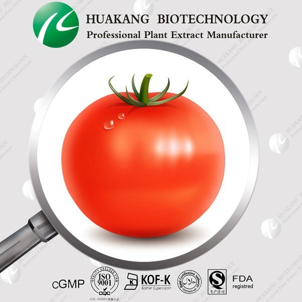 100% Natural Lycopene/Tomato Extract 1% to 95%