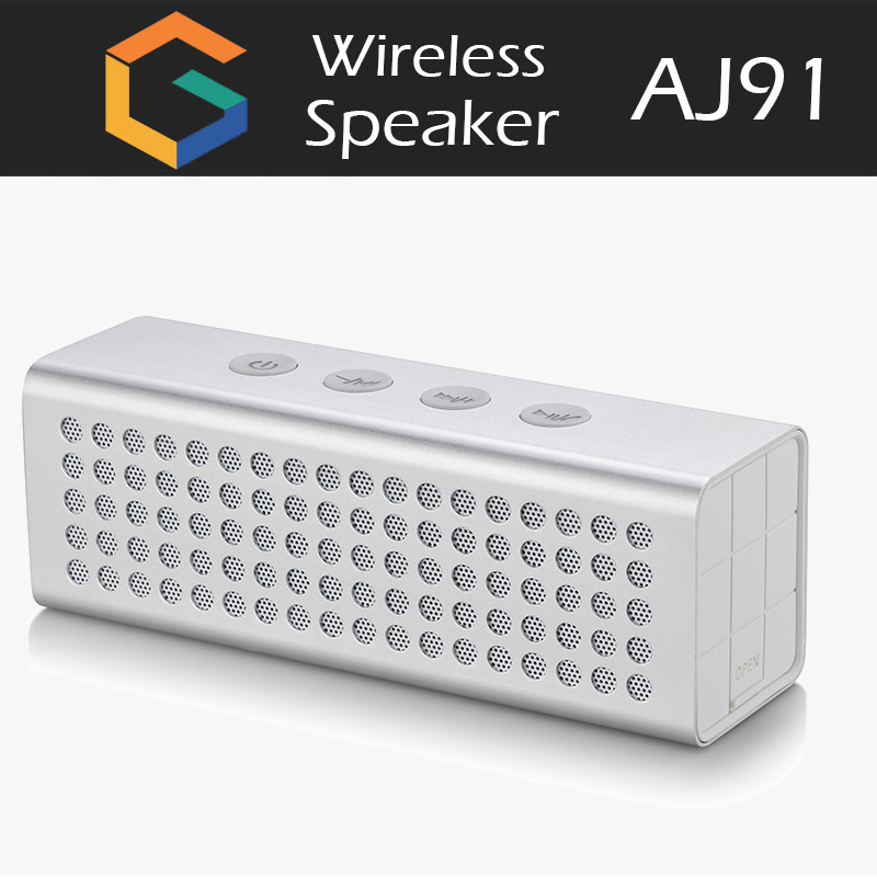 GST high quality OEM speaker wireless AJ91 unique shape design for 2017