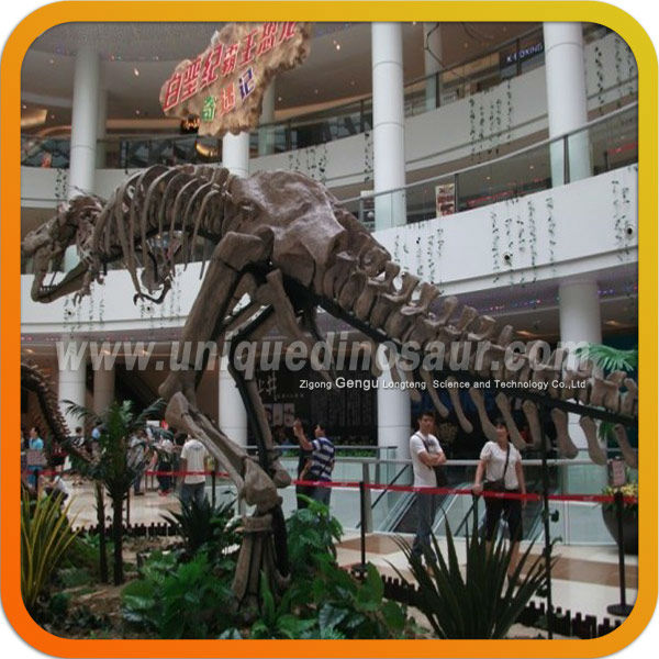 Animated Dinosaur Replica Animal Skeleton Model