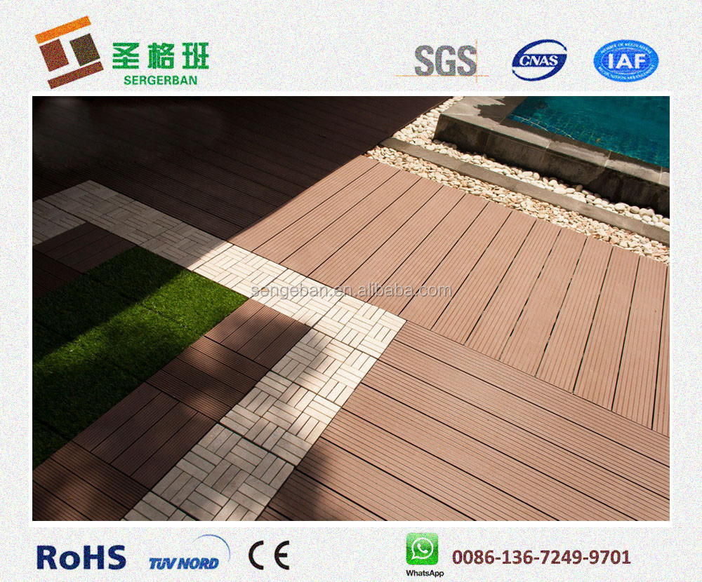 Swimming pool composite decking plastic swimming pool tile for The range decking boards
