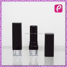 Hot selling Square matte black lipstick container beauty tube