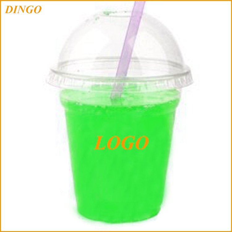 Custom High grade latest arrival cute disposable plastic cup with raw materials