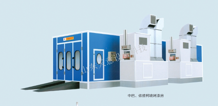 Hot Sale Big Size Bus Spray Booth / Truck Painting Oven / Pickup Trucks Baking room