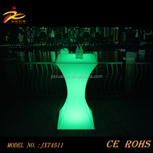 2016 cheap illuminated wedding table/party decorative table/party table