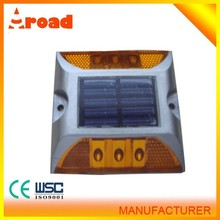 Hot sale high quality aluminum material wholesale led solar road marker