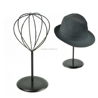 Metal Hat Stand Display Black Hat Hanger Cap Stand