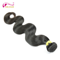 XBL Brand name hair weave treats extension malaysian hair weaves