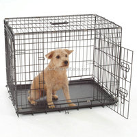 Heavy Duty Dog Crate ,Folidng Animal Cage
