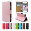Luxury crystal grain leather mobile phone case for ipod touch 6, flip wallet case for ipod touch 6