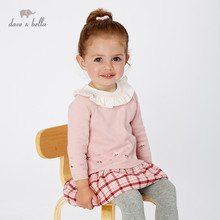 DB11455 dave bella autumn children party clothes baby <strong>girl's</strong> <strong>dress</strong>