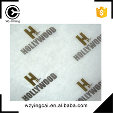 Nice customized print logo packaging 70*50cm christmas high quality wrapping tissue paper