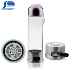 Oem available anion domestic water purifier rich hydrogen pure ro water bottle filter ionizer japan kangen ionized water
