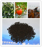 Black dried seaweed grape organic fertilizer
