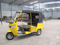 petrol middle engine bajaj passenger tricycle