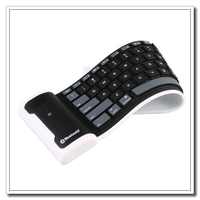 45pcs/lot Flexible bluetooth keyboard for Android & IOS Mobile Devices BK-20