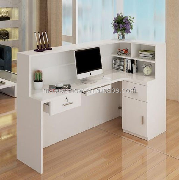 Wholesale Custom Wood Front Desk Counter Front Counter Reception Desk