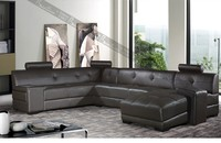 living room furniture contemporary U shape sectional sofa
