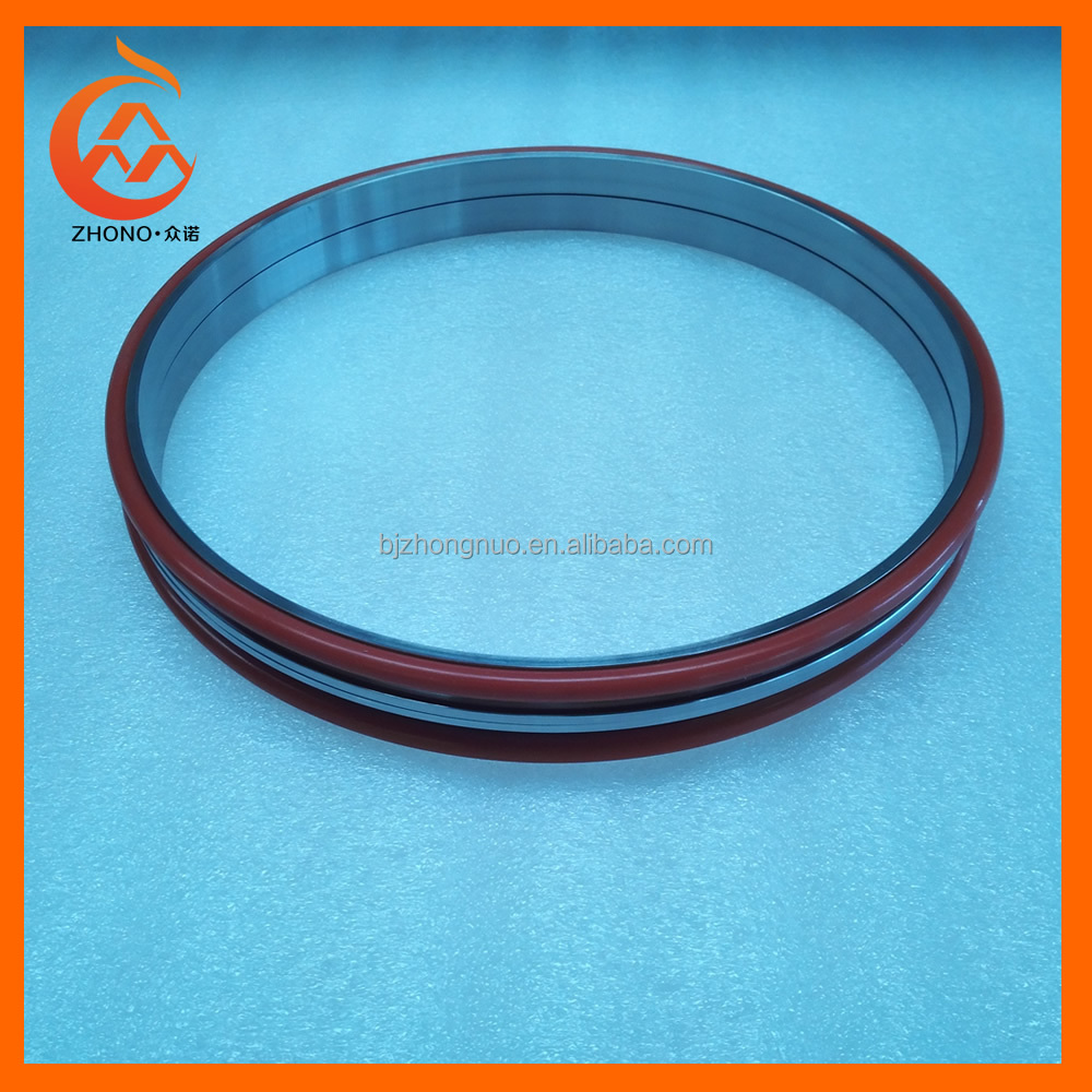 VMQ O ring Floating seal Silicone rubber O ring metal face seal