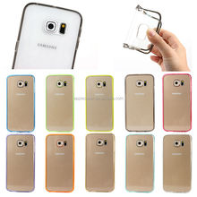 China supplier PC TPU Acrylic phone case for Samsung galaxy S6, for samsung galaxy S6 cover , mobile accessories