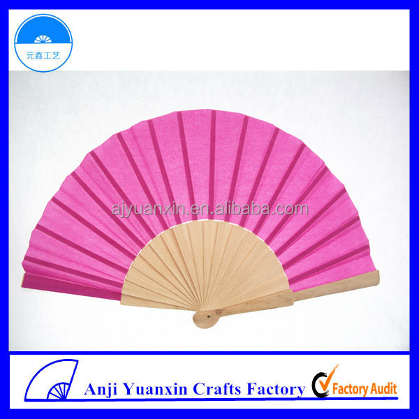 Wood Craft Hand Fan China Complimentary Gift Supplies
