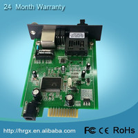Alibaba trade assurance 2 Port fiber optic 100M Ethernet PCI Express Server Adapters Network cards (SFP Slot)