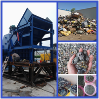 Factory direct supply high efficiency mini scrap metal crusher for sale