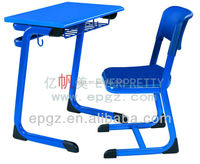 Single Student Desk Chair Assemble Wooden Study Table Chair