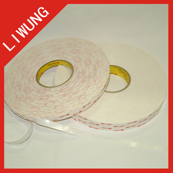 Die cutting 3M 4930 tape for glass for plastic for metal adhesive