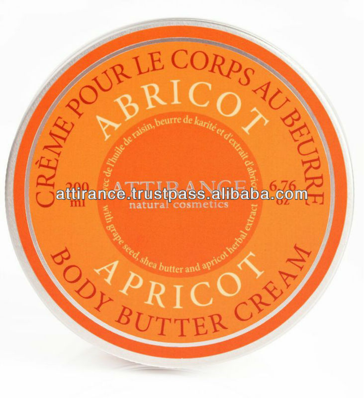 "Body Butter Cream ""Apricot"" Natural ,Moisturizing"