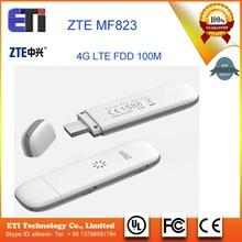 Unlocked Original ZTE MF823 Wireless 4G LTE FDD 3G Dongle Modem 100Mbps SIM Card Moblie Phone Hotspot Dongle