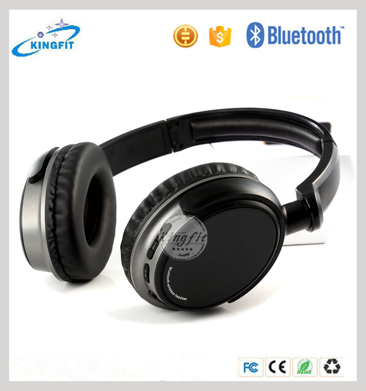 2015 Hot sell high quality stereo wireless bluetooth headphone from Shenzhen supplier