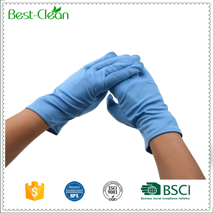 Micro Fiber Jewellery Polishing Gloves