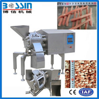 China best choice worldwide selling frozen beef meat cube dicer machine