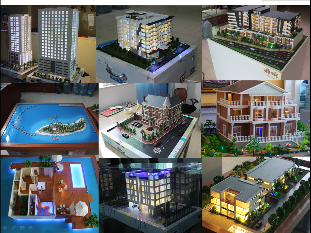 Residential professional scale model builders,architectural miniature models