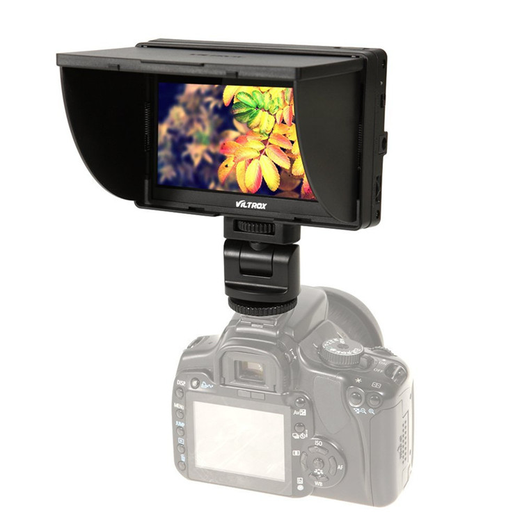 Viltrox Mini 5 inch Full HD Field Small TFT LCD Monitor DC-50 for Canon Nikon Camera DSLR Broadcast