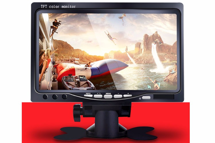 7 inch tft lcd car tv monitor