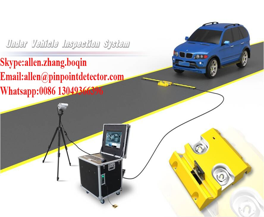 Pinpoint Factory waterproof UVIS&UVSS under vehicle surveillance system