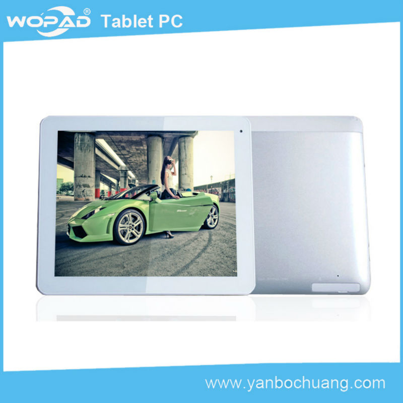 2014 Newest 9.7 inch pc Android 4.2.2 mtk 8382 tablet 3g