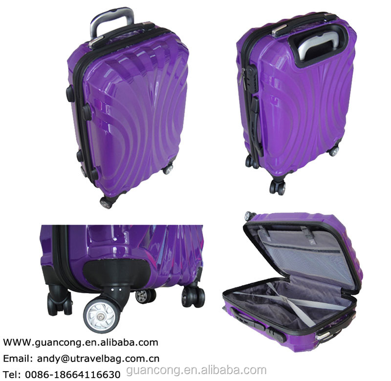 32inches trolley/pull/waterproof lugagge set/hard shell/travel bag/wheeled case with abs+pc material