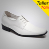invisible shoes / italian designer shoes men / ivory wedding shoes J2951-1
