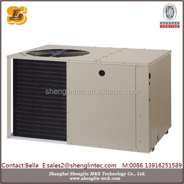 High static pressure duct type 61.2KW cooling capacity rooftop air conditioner