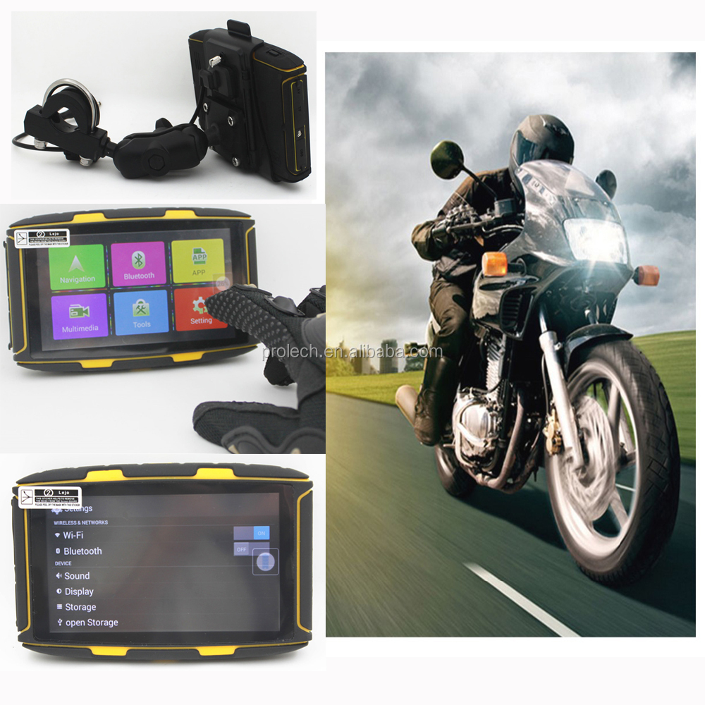 Waterproof Dustproof GPS Motorcycle Motorbike Sat Nav