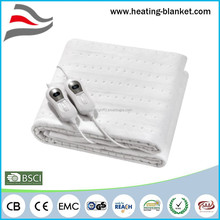 Auto-off Double Controller Stamp Welding Polyester 120W Dual Control Electric Blanket King