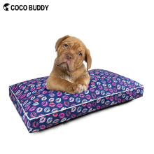 Pure Cotton Printed Lips Comfortable Pet Beds for Large Dogs