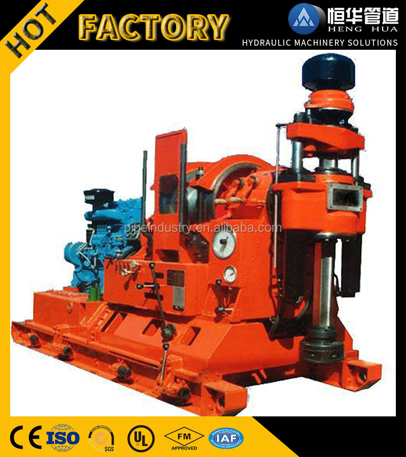 2017 Diesel power engine Deep hole drilling machine price