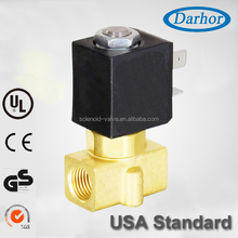 Direct- acting small in size 2/2 way water solenoid valve