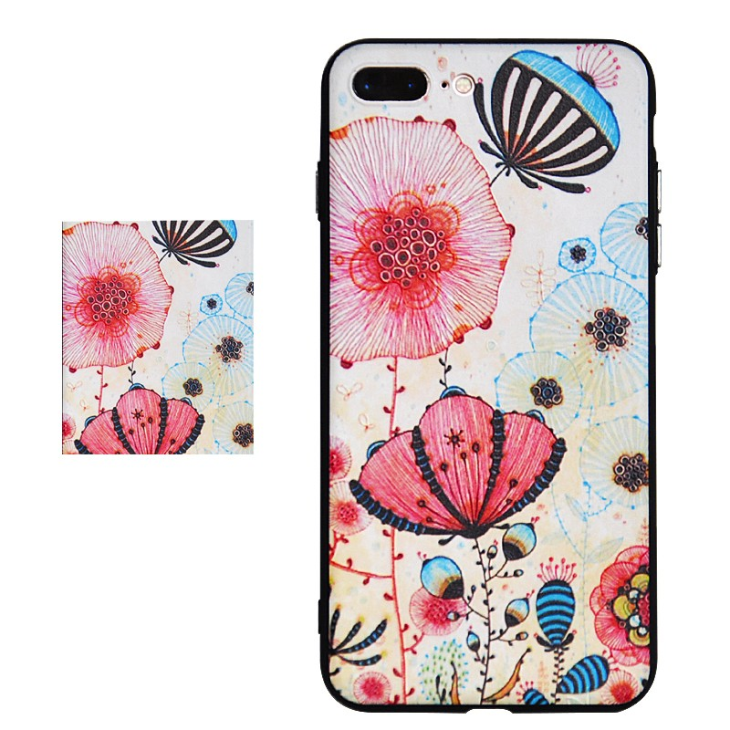 DFIFAN Colorful Pattern Plastic tpu pc Series for Apple Iphones7 7plus Apple 7 Case Bag Print Printing Drawing Cells Phone Cases