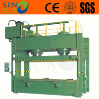 wood working hydraulic hot press machine, prepress or cold press machine for making plywood
